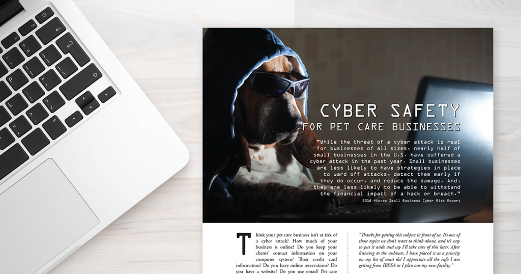 Cyber Safety for Pet Care Businesses (Pet Care Pro) - IBPSA