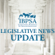 Graphic with the title Legislative News Update on it